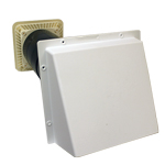 Rytons 125mm Cowled Aircore With Lookryt Louvre - White
