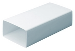 Domus Supertube Rigid Duct 204X60mm 2M Length White
