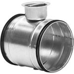 Partial Shut Off Damper With Safe Seals - 100mm