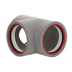 Kair Self-Seal Thermal 160mm Dia T-Piece Complete With Female Click And Lock Fittings...
