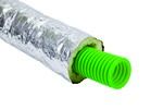 Kair 75mm Radial Ducting Insulated Sleeve - 10 Metre Roll