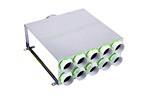 Kair 10 Port Horizontal Acoustic Manifold Box With 150mm Main Branch And 6 X 75mm Rad...
