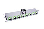 Kair 14 Port Acoustic Manifold Box With 150mm Main Branch And 6 X 75mm Radial Connect...