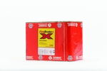 Domus Firebrake+ Supertube Rigid Duct 204X60mm Horizontal Sleeve Red
