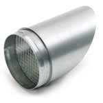 Metal Ducting Bird Beak - 100mm