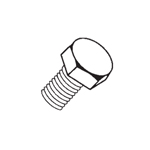 Hex Headed Screws (Pack 100) M8-25