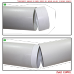 Kair Plastic Ducting Pipe 100mm - 350mm Short Length - Rigid Straight Ducting Channel