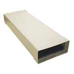 KAIR SYSTEM 220 1M LONG DUCTING SILENCER - 220X90MM RECTANGULAR DUCT