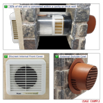 NEW STOCK EXPECTED W/C 31/08/2021 - Kair Heat Recovery Extractor Fan - 12VAC SELV - Humidistat