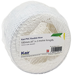 Kair PVC Flexible Hose 100mm - 4 inch / 3 Metre Length