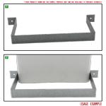 Kair Rectangular Ducting Retaining Clip 180mm x 90mm Support Bracket