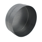 Ducting End Cap - Male-Female - 80mm