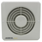 Manrose MG150ABP Wall/Ceiling Fan - Pullcord - 150mm