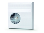 Domus Mayfair 70 Plug-In Centrifugal 100mm Energy Efficient Timer And Humidistat Fan White
