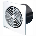 MANROSE LP100STC LOW PROFILE EXTRACT FAN WHITE COVER