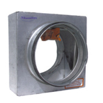 100MM STANDARD CURTAIN FIRE DAMPER