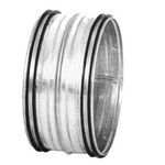 Galvanised Safe Male Sleeve Coupling - 400mm