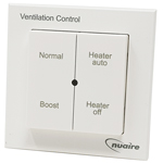 Nuaire Drimaster DRI-ECO-4S Eco 4 Way Heater and Boost Control Switch