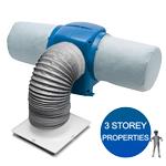Nuaire Drimaster Eco 3S Loft Control 3 Storey Property Positive Input Ventilation Uni...