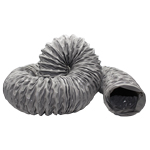 POLYESTER REINFORCED PVC HOSE 127MM DIA,  6 METRES