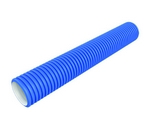 Domus Radial Semi-Rigid Duct 75mm 25M Length Blue