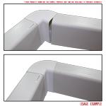 Kair 90 Degree Vertical Elbow Bend 180mm x 90mm - 7 x 4 inch