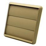 GRAVITY GRILL 110MM X 54MM RECTANGULAR SPIGOT - BEIGE
