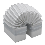 RECTANGULAR DUCTING 150MM X 70MM - FLEXIBLE BEND