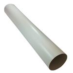 150mm Round Pipe 1 Metre - Kair System 150 Ducting Range 150 Inner 154mm Outer Diameter