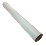 Kair Plastic Ducting Pipe 100mm - 4 inch / 1 Metre Long Length - Rigid Straight Duct Channel