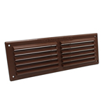 Rytons 9X3 Louvre Ventilation Grille - Brown | Vent Covers