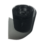 Rytons Black Mesh 4mm X 4mm Holes 145mm Wide - Price Per Metre