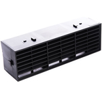 Rytons 9X3 Multifix Air Brick - Black