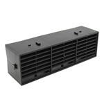 Rytons 9X3 Multifix Air Brick - Black