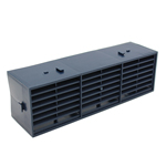 RYTONS 9X3 MULTIFIX AIR BRICK - BLUE-BLACK