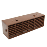 RYTONS 9X3 MULTIFIX AIR BRICK - BROWN
