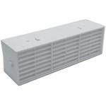 Rytons 9X3 Multifix Air Brick - White