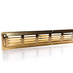 Rytons 26X2 Solid Brass Door Ventilation Grille