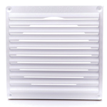Rytons 7X7 Aircore Louvre White With Mesh
