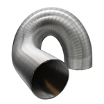 Semi-Rigid Aluminium Hose 127mm Dia, 3 Metres