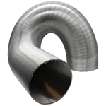 SEMI-RIGID ALUMINIUM HOSE 152MM DIA, 3 METRES