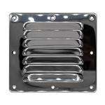 126mm X 115mm Ventilation Grille Stainless Steel