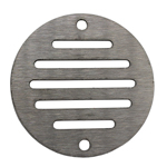 50mm Round Ventilation Grille Stainless Steel