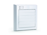 Domus Svc Auto Shutter Axial 150mm Fan White