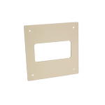 System 100 Rectangular Wall Plate