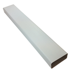 Kair Rectangular Flat Ducting 150mm x 70mm - 1 Metre Length Flat Channel Pipe