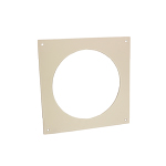 Kair Wall Plate 125mm - 5 inch for Round Ducting