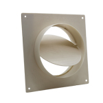 SYSTEM 150 WALL PLATE WITH DAMPER