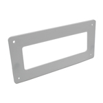 SYSTEM 204 WALL PLATE RECTANGULAR
