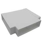 KAIR SYSTEM 204 T PIECE DUCTING - WHITE